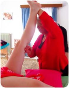 lavoro gambe
